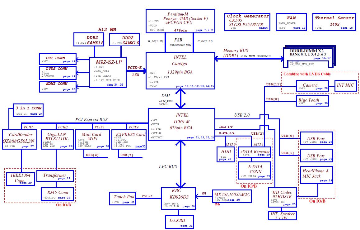 kb6160主板电路图
